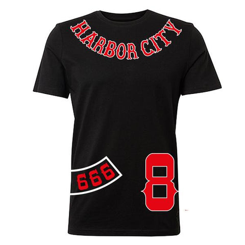 "T-Shirt Harbor City ""FTW 666"""