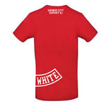 "T-Shirt Support 81 ""Red & White"""