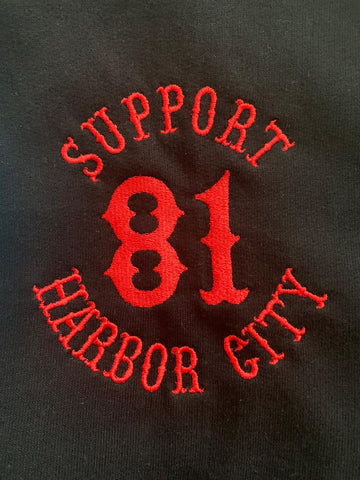 Sweatshirtjacke - Support 81 Harbor City
