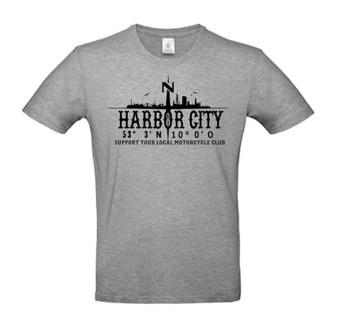 T-Shirt Harbor City Coordinates