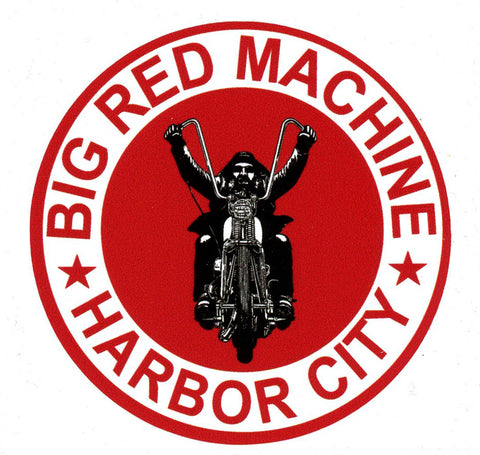 Sticker - Big Red Machine Harbor City