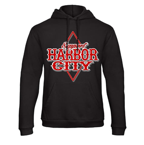 Hoodie Raute Support HarborCity