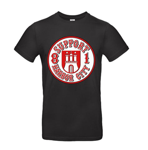 T-Shirt Support Wappen Harbor City