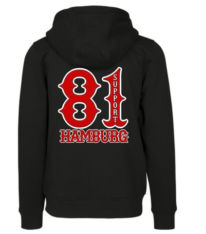 Sweatshirtjacke Support81 HH