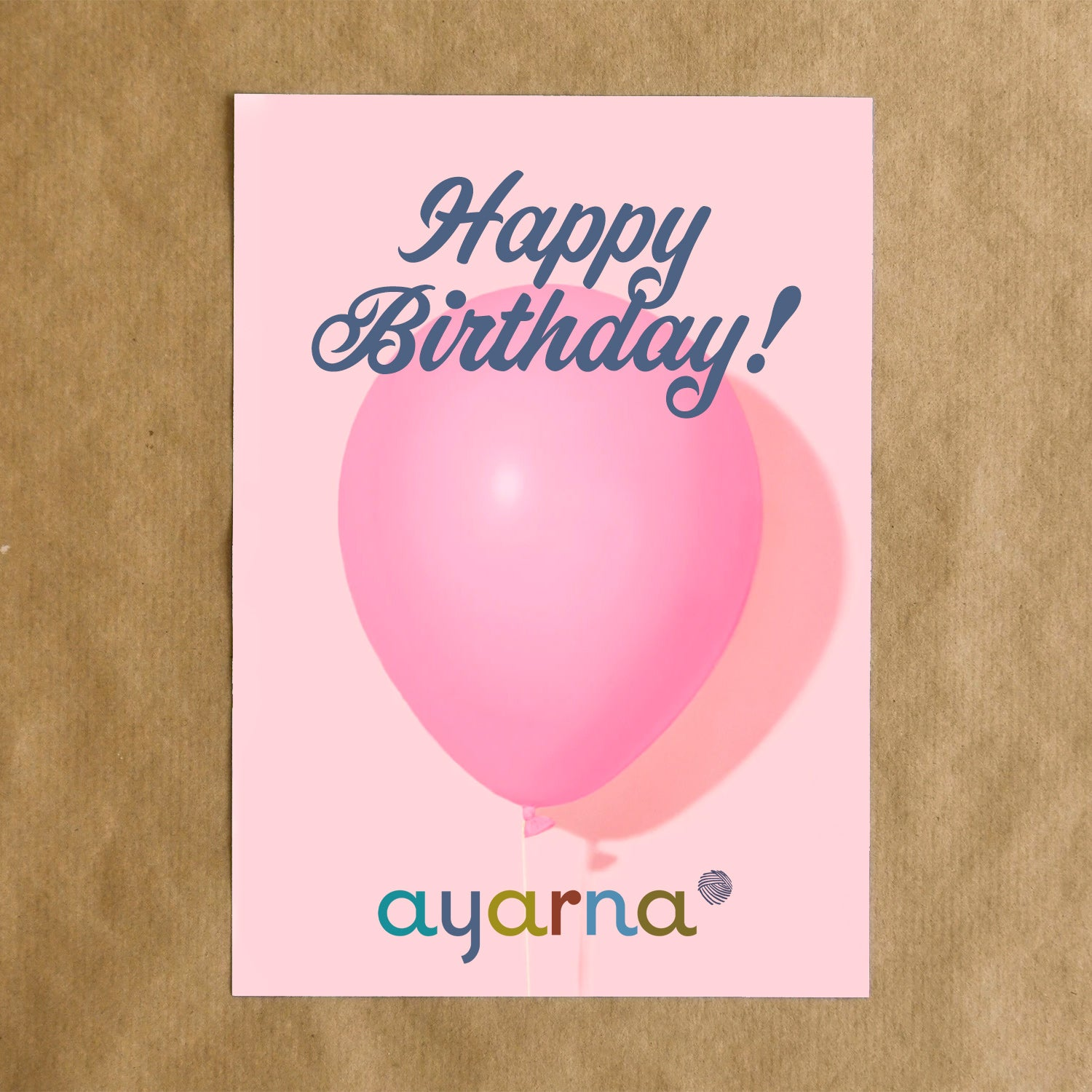 Happy Birthday Ayarna e-Gift Card