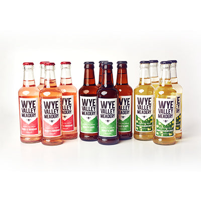 12 x Bottles of Wye Valley Sparkling Mead 330ml