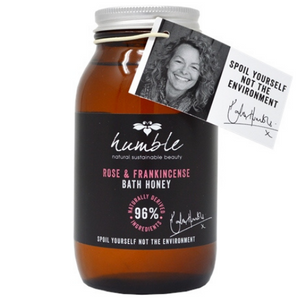 Humble Natural Beauty Rose & Frankincense Bath Honey 300ml