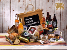 Load image into Gallery viewer, Taste of the Wye Valley - Seasonal Hamper Bag in a Box