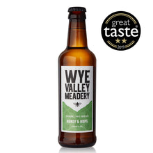 Load image into Gallery viewer, 3 x Honey & Hops Sparkling Mead 330ml 4%
