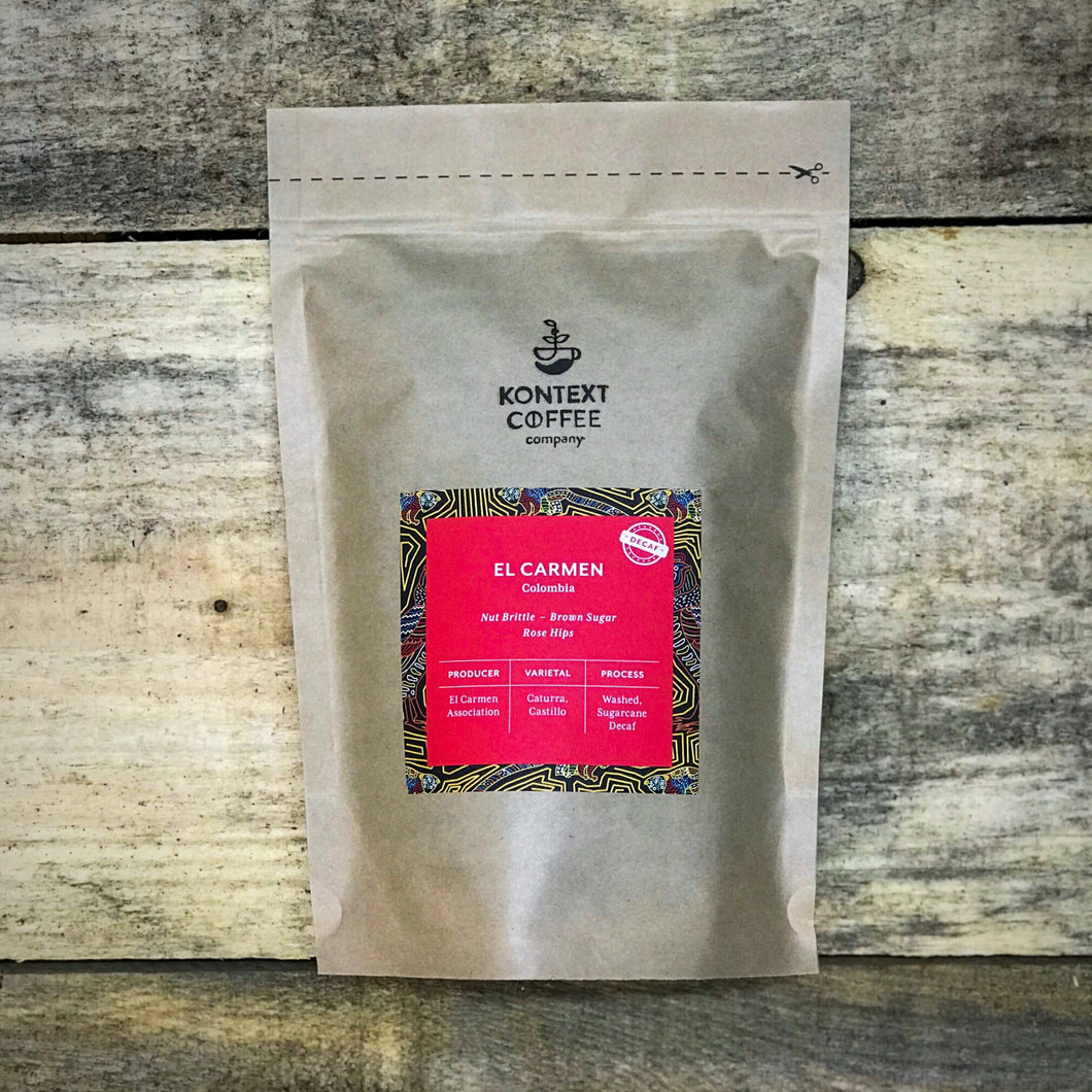 Colombia El Carmen - Fully Washed Decaf