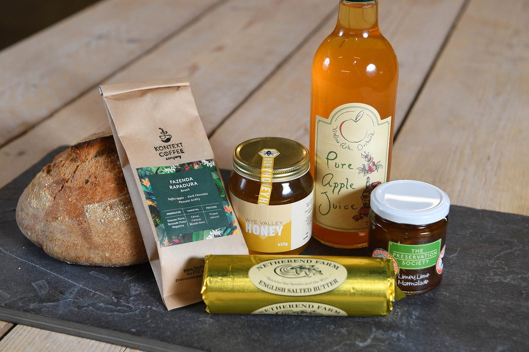 Wye Valley Producers Breakfast Box