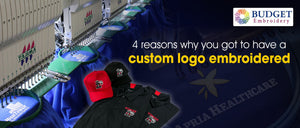 4 reasons why you got to have a custom logo embroidered