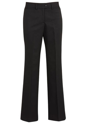 Biz Corporates-Biz Corporates Relaxed Fit Pant - Straight Leg-Black / 4-Corporate Apparel Online - 2
