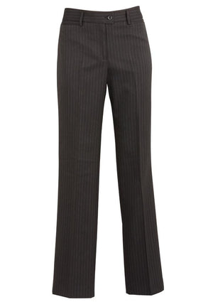 Biz Corporates-Biz Corporates Ladies Relaxed Fit Pant-Charcoal / 4-Corporate Apparel Online - 4