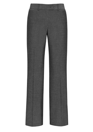 Biz Corporates-Biz Corporates Ladies Relax Fit Pant-Grey / 4-Corporate Apparel Online - 2