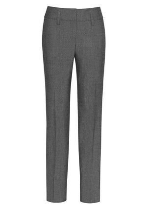 Biz Corporates-Biz Corporates Ladies Contour Band Pant-Grey / 4-Corporate Apparel Online - 2