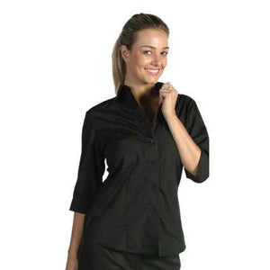 DNC Workwear-DNC Ladies Polyester Cotton 3/4 Sleeve Shirts--Uniform Wholesalers - 1