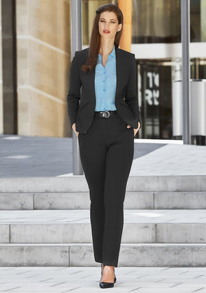 Biz Corporates-Biz Corporates Ladies Tapered Leg Pant--Corporate Apparel Online - 1