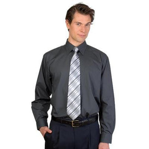 DNC Workwear-DNC Mens Premier Poplin L/S Business Shirts--Uniform Wholesalers - 1