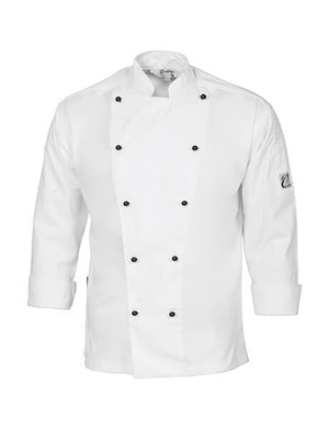 DNC Cool-Breeze Cotton L/S Chef Jacket (1104)