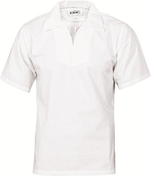 DNC Workwear-DNC V-Neck Food Industry Jerkin Short Sleeve-XS / White-Uniform Wholesalers
