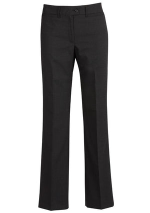 Biz Corporates-Biz Corporates Relaxed Fit Straight Leg Pant-Black / 4-Corporate Apparel Online - 2