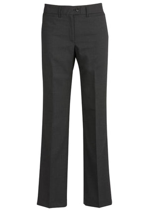 Biz Corporates-Biz Corporates Relaxed Fit Straight Leg Pant-Charcoal / 4-Corporate Apparel Online - 4