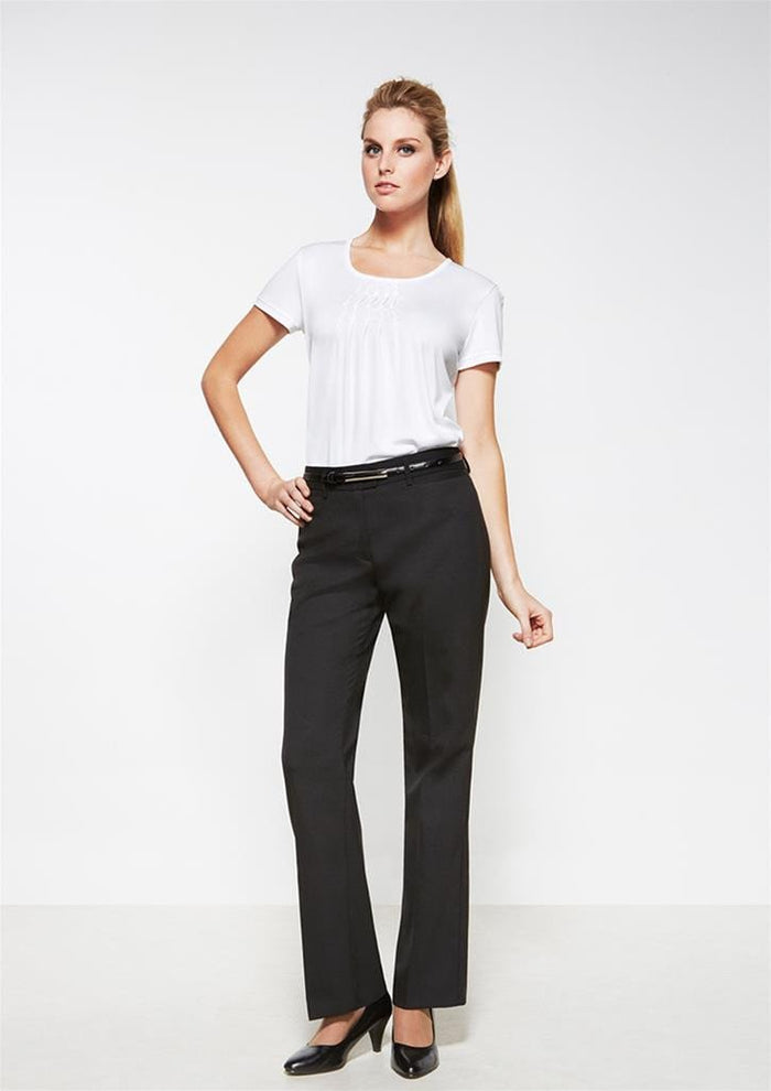 Biz Corporates Relaxed Fit Straight Leg Pant (14011)