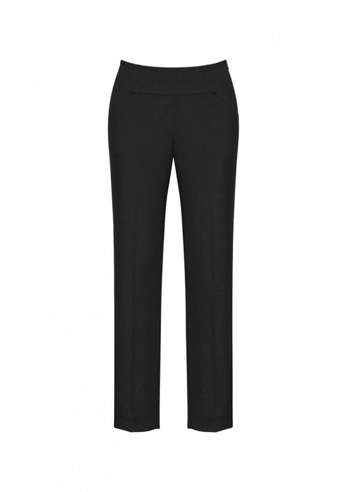 Biz Corporate Ladies Comfort Wool Bandless Pants (14021)