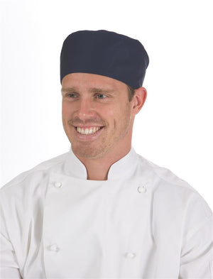 DNC Workwear-DNC Flat Top Chef Hat-0 / Navy-Uniform Wholesalers - 2