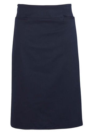 Biz Corporates-Biz Corporates Relaxed Fit Skirt-Navy / 4-Corporate Apparel Online - 6