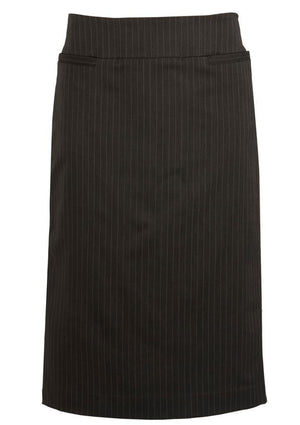 Biz Corporates-Biz Corporates Relaxed Fit Skirt-Black / 4-Corporate Apparel Online - 2