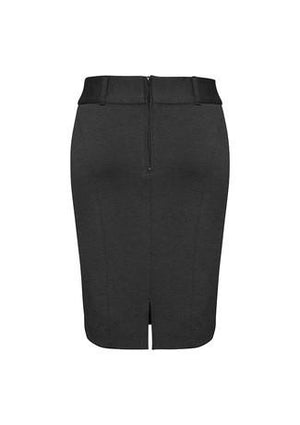 Biz Corporates-Biz Corporates Ladies Skirt with Rear Split--Corporate Apparel Online - 3