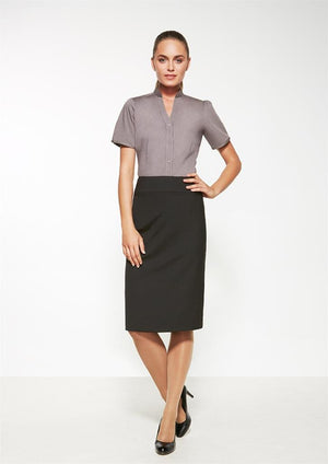 Biz Corporates-Biz Corporates Ladies Relaxed Fit Lined Skirt--Corporate Apparel Online - 1