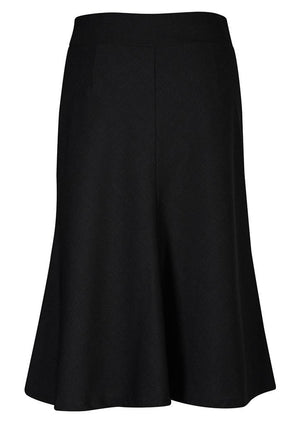 Biz Corporates-Biz Corporates Fluted 3/4 length Skirt--Corporate Apparel Online - 3