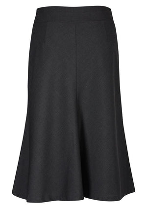 Biz Corporates-Biz Corporates Fluted 3/4 length Skirt--Corporate Apparel Online - 5