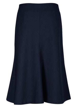 Biz Corporates-Biz Corporates Fluted 3/4 length Skirt--Corporate Apparel Online - 7