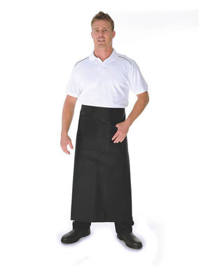 DNC Poly/Cotton Continental Apron With Pocket (2411)