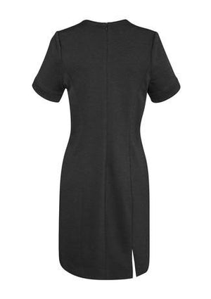 Biz Corporates-Biz Corporates Ladies Open Neck Dress--Corporate Apparel Online - 3