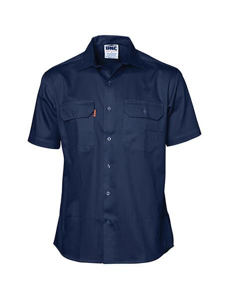DNC Cool-Breeze Work Shirt - Short Sleeve (3207)