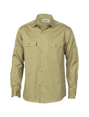 DNC Cool-breeze Work Shirt- Long Sleeve (3208)