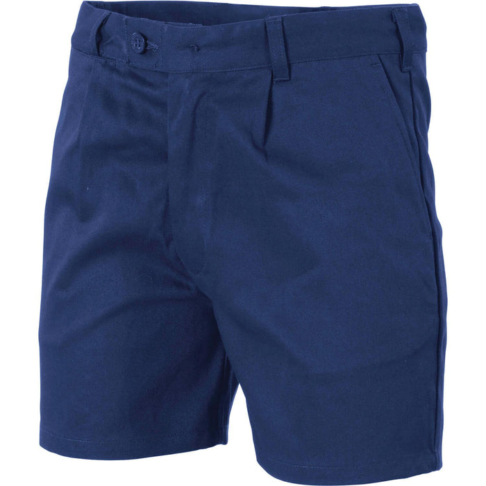 DNC Cotton Drill Belt Loops Shorts (3303)
