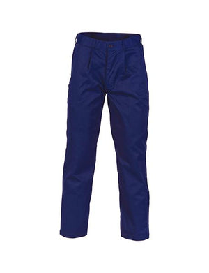 DNC Polyester Cotton Pleat Front Work Trousers (3315)
