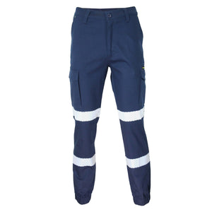DNC SlimFlex Bio-Motion Segment Taped Cargo Pants- Elastic Cuffs (3378)
