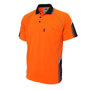 DNC Hi-Vis GALAXY Sublimated Polo (3564)