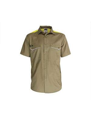 DNC RipStop Cool Cotton Tradies Shirt, S/S (3581)