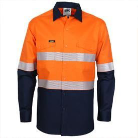 DNC Hivis 2 Tone Segment Taped Coolight Shirt (3648)