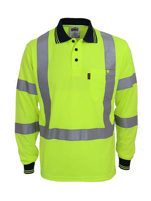 "DNC Hi Vis ""X' Back & Bio-Motion Taped Polo (3710)"