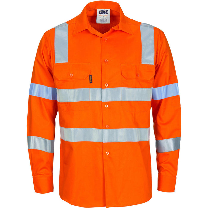 DNC Hivis D/N L/w Cotton Shirt (3743)