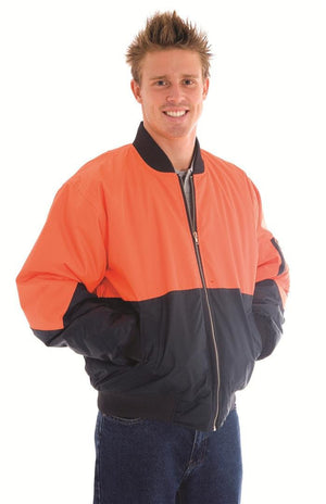 DNC Workwear-DNC HiVis Two Tone Flying Jacket > 300D--Uniform Wholesalers - 1